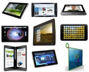 different tablets 300x243 Face value decision making : marketers taking advantage
