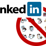 no emoticons LinkedIn